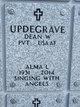 Profile photo:  Alma Leona <I>Evans</I> Updegrave