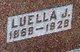 "Luella Jane ""Lula"" <I>Borders</I> Hartsock"