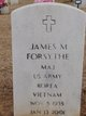 Profile photo: Maj James M. Forsythe