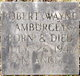 Robert Wayne Amburgey