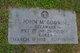Pvt John M Godwin