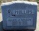 "Profile photo:  Allen J ""Speedy"" Phillips"