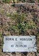 """Neresis Elizabeth """"Nercy/Nora"""" <I>Wells</I> Hopson"""