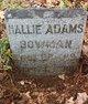 Hallie K. <I>Adams</I> Bowman