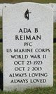 Profile photo:  Ada Bess <I>Hill</I> Reiman