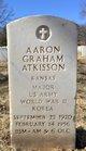 Profile photo:  Aaron Graham Atkisson