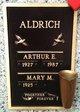 Profile photo:  Arthur E. Aldrich