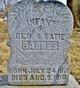 Infant Daughter Barnes