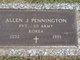 Profile photo:  Allen J. Pennington