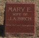 Profile photo:  Mary E <I>Green</I> Birch