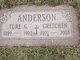 Gretchen <I>Mitchell</I> Anderson