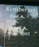Debra A. <I>Greenlee</I> Rensberger