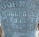 Profile photo:  John W. Woolfolk