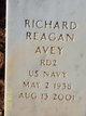 Profile photo:  Richard Reagan Avey