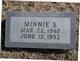 Minnie S <I>Schmidt</I> Muller