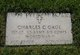 Profile photo: Lieut Charles Gage