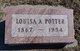 Louisa A Potter