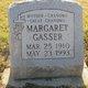 Margaret <I>Smith</I> Gasser