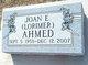 Joan E <I>Lorimer</I> Ahmed