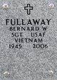 Profile photo:  Bernard W Fullaway