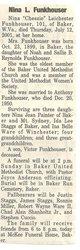 "Nina Leichester ""Chessie"" Funkhouser"