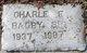 Profile photo:  Charle E. Bagby