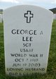 Profile photo:  George A Lee