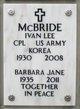 Profile photo:  Barbara Jane McBride