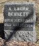 Profile photo:  A. Laura Bennett