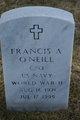 Francis A O'Neill