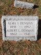 Profile photo:  Alma I. Denman