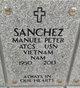 Profile photo:  Manuel Peter Sanchez