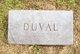 Profile photo:  Duval