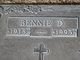 "Profile photo:  Benjamin David ""Bennie"" Webb"