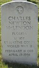 Profile photo:  Charles Newton McLendon
