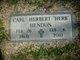 """Profile photo:  Carl Herbert """"Herb"""" Hendon"""