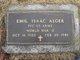 """Emil Isaac """"Ike"""" Alger"""