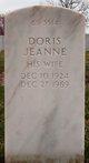 Doris Jeanne <I>Leeper</I> Burke