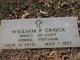 """Profile photo:  William Patrick """"Bill"""" Crock"""