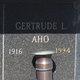Gertrude L. <I>Keranen</I> Aho