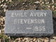 Emile Frances <I>Avery</I> Stevenson