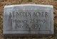 Profile photo:  A Lincoln Acker