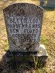 Bettie Lou Floyd