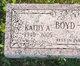 Kathy A Boyd