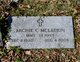 """Profile photo:  Archie Clarence """"Cheese"""" McLaurin"""