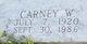 Carney William Boyd