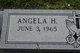 Profile photo:  Angela <I>Hampton</I> Lea