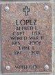 Profile photo:  Alfred Leopold Lopez