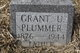 Profile photo:  Grant U. Plummer