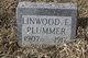 Profile photo:  Linwood E. Plummer